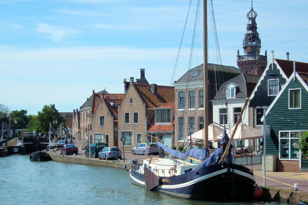 een foto van de boot in Monnickendam