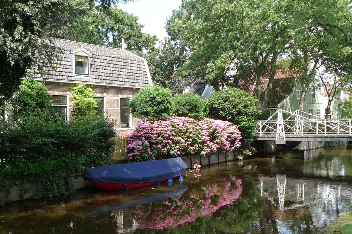 een pittoreske foto van Broek in Waterland