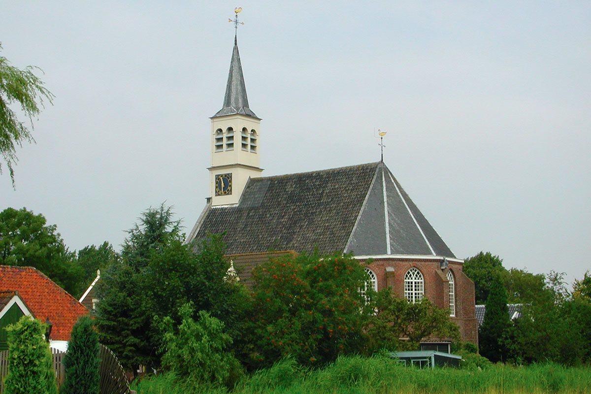 de kerk in Watergang