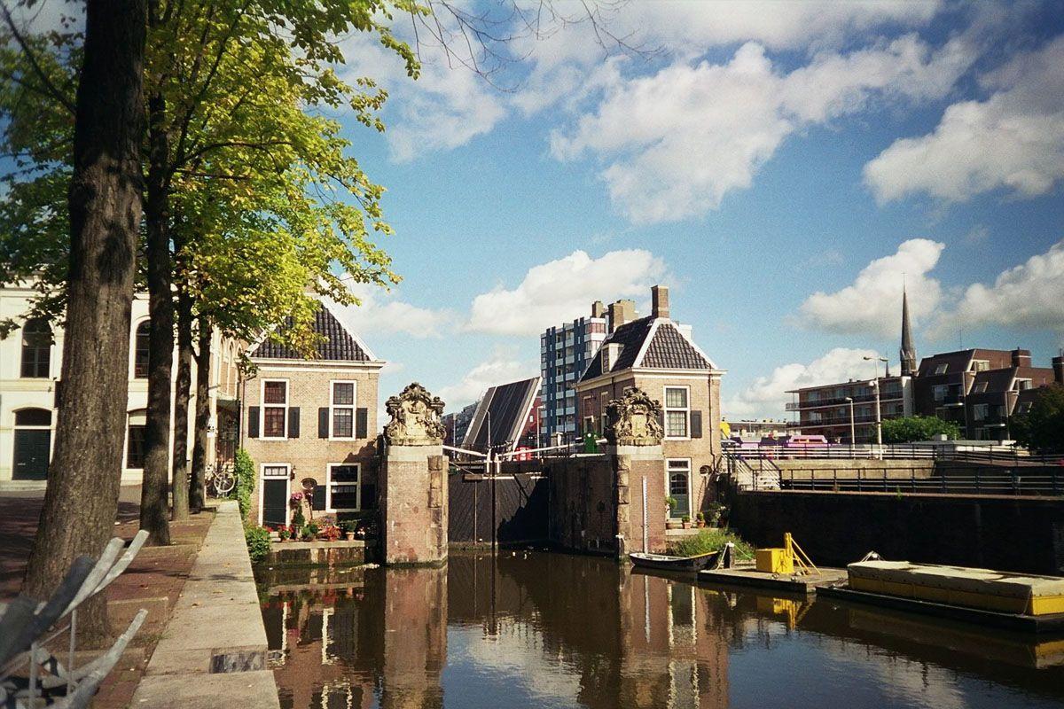 de sluis in Zaandam